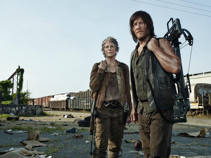 Walking-Dead-Season-5-Melissa-McBride-Norman-Reedus-Carol-Daryl