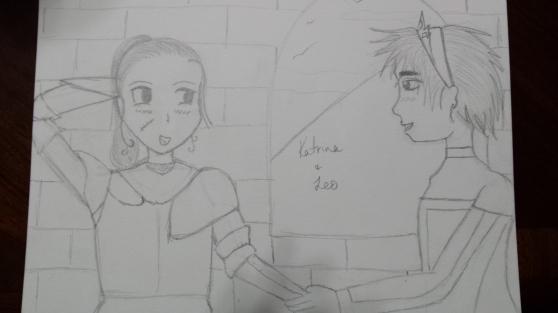 Katrina and Leo