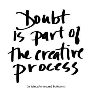 creative doubt
