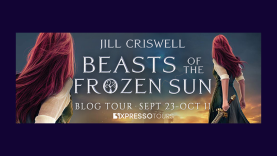 Blog Tour: Beasts of the Frozen Sun by JillCriswell