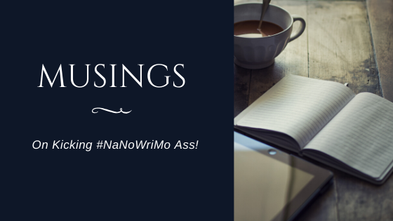 #NaNoWriMo2019 – And so itbegins!