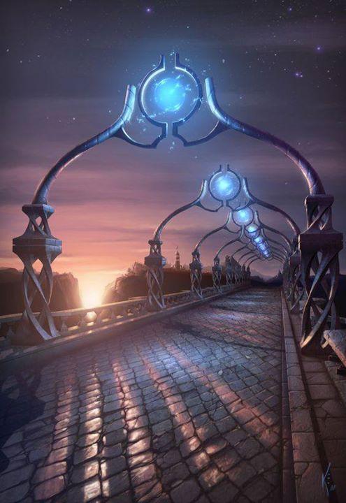 Fantasy art, Fantasy city, Fantasy landscape, Fantasy castle, Fantasy setting, Environment concept art - art by Kris Eggleston raypunk - fantasycastle #fantasycity #scififantasy #medievalfantasy #fantasyconceptar