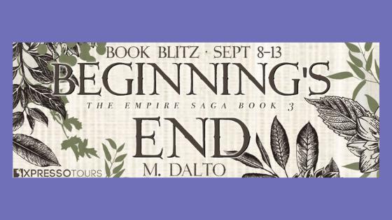 Book Blitz: Beginning's End by M.Dalto