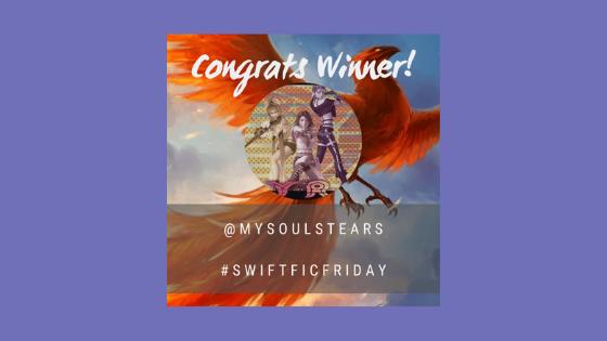 #SwiftFicFriday – Week 60Winner